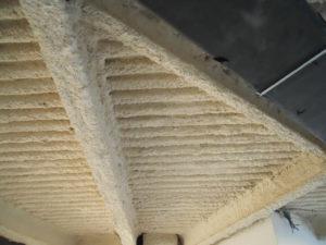igniver intonaco antincendio spruzzato su lamiera gragata e travi in ferro - Stevanato | Soluzioni per umidità e infiltrazioni