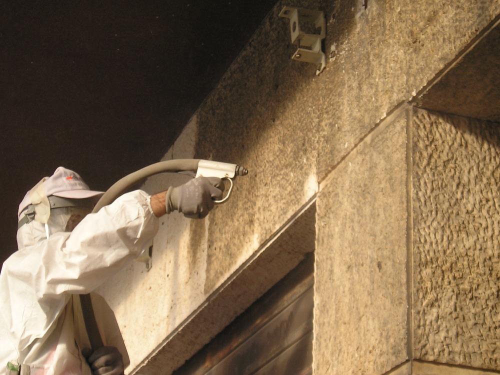 sabbiature 2- Stevanato | Soluzioni per umidità e infiltrazioni