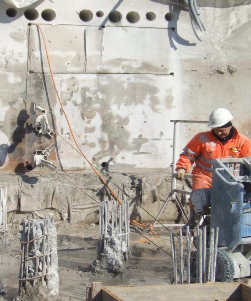 Lavori Speciali - Taglio Cemento Armato 2 - Stevanato | Soluzioni per umidità e infiltrazioni