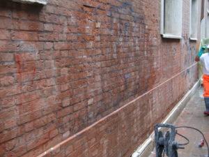Rimozione graffiti 9 - Stevanato | Soluzioni per umidità e infiltrazioni