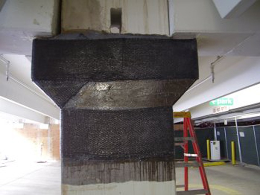 carbon fiber column repair - Stevanato | Soluzioni per umidità e infiltrazioni