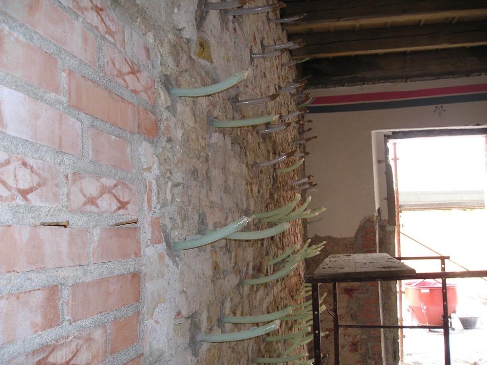 consolidamenti edili - lavori speciali - Stevanato | Soluzioni per umidità e infiltrazioni