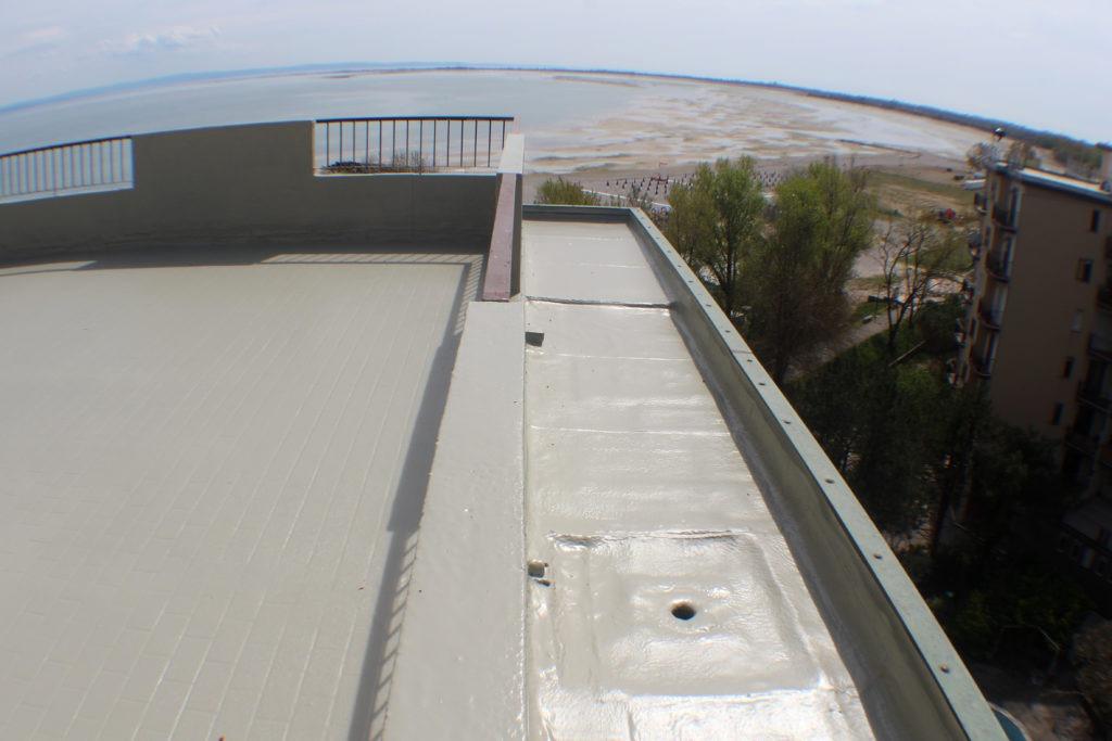 Impermeabilizzazione poliurea - Stevanato | Soluzioni per umidità e infiltrazioni