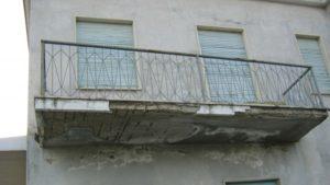 Balcone pre restauro - Stevanato | Soluzioni per umidità e infiltrazioni